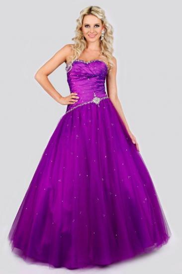 3b7c2711b15 Dlouhé šaty - FRIDA - Plesové šaty AKCE