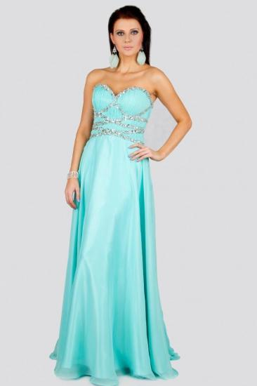 2563e345194 Dlouhé šaty - KERRY - Plesové šaty AKCE