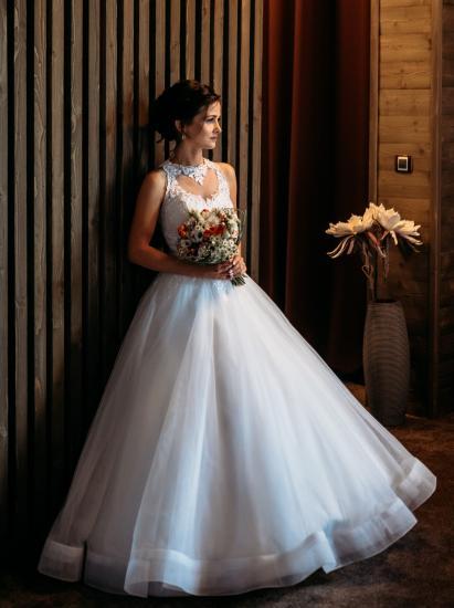 Svatební šaty - PUSSY - Plesové šaty AKCE 9e144a9772